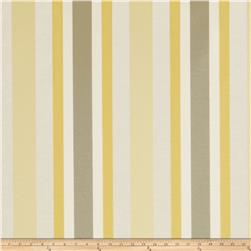 Jaclyn Smith 02621 Bank Stripe Blend Lemon Zest