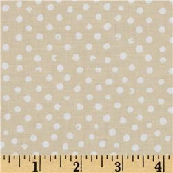 Confetti Dot Cream Fabric