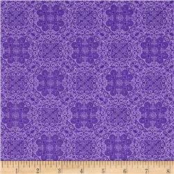 Kanvas Bella Morocco Medallion Purple