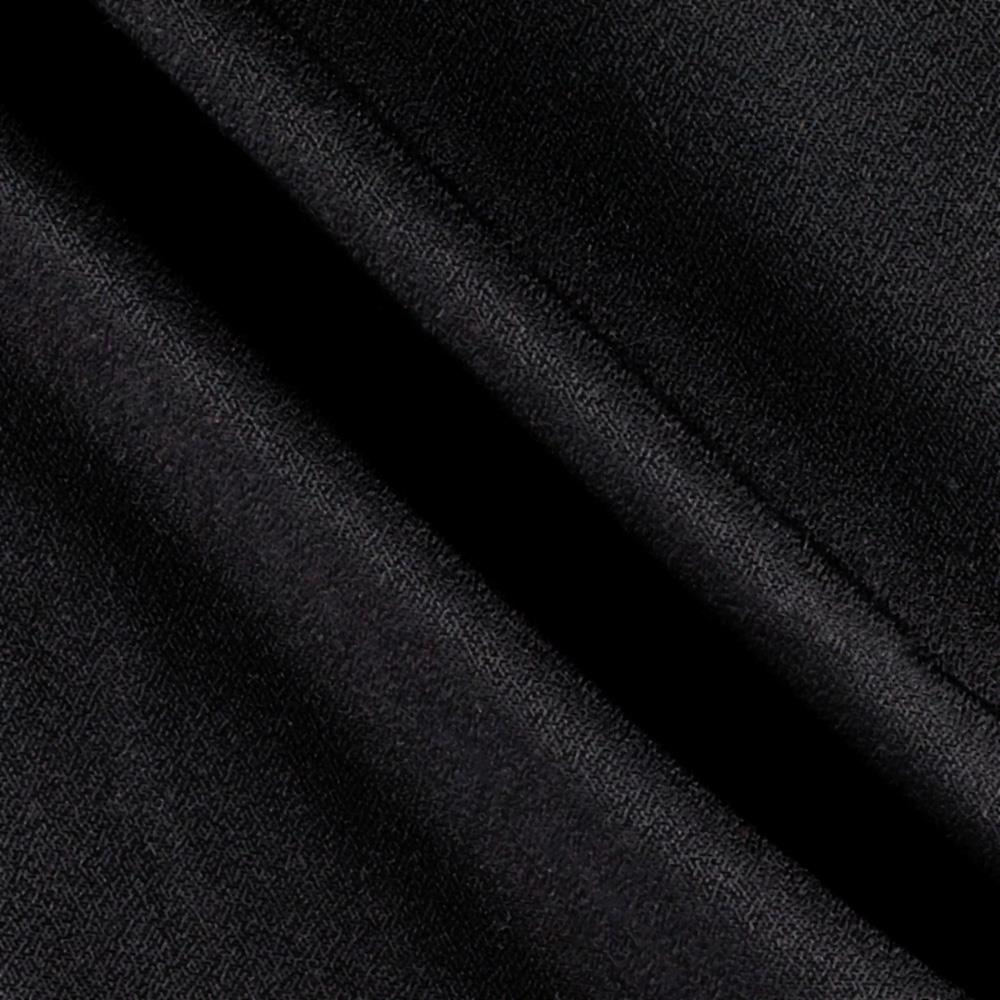 Rayon Blend Crepe Shirting Black