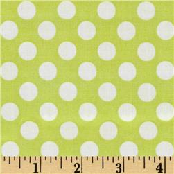 Michael Miller Ta Dot Lime Fabric