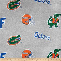 University of Florida Gators Sweatshirt Fleece Grey