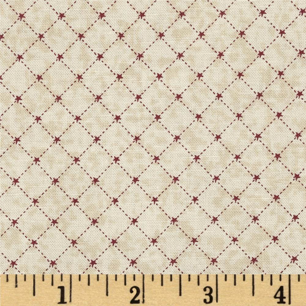 Winter Village Bias Grid Taupe