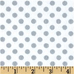 Flannel Polka Dots Stone