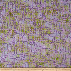 Bali Batiks Handpaints Piping Lavender