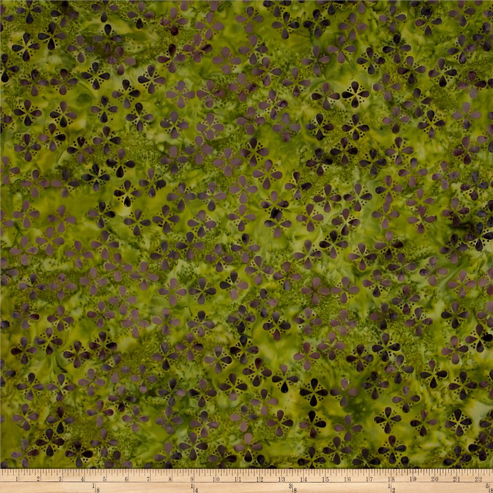 Island Batik Seeds & Dots 2 Purple/Green