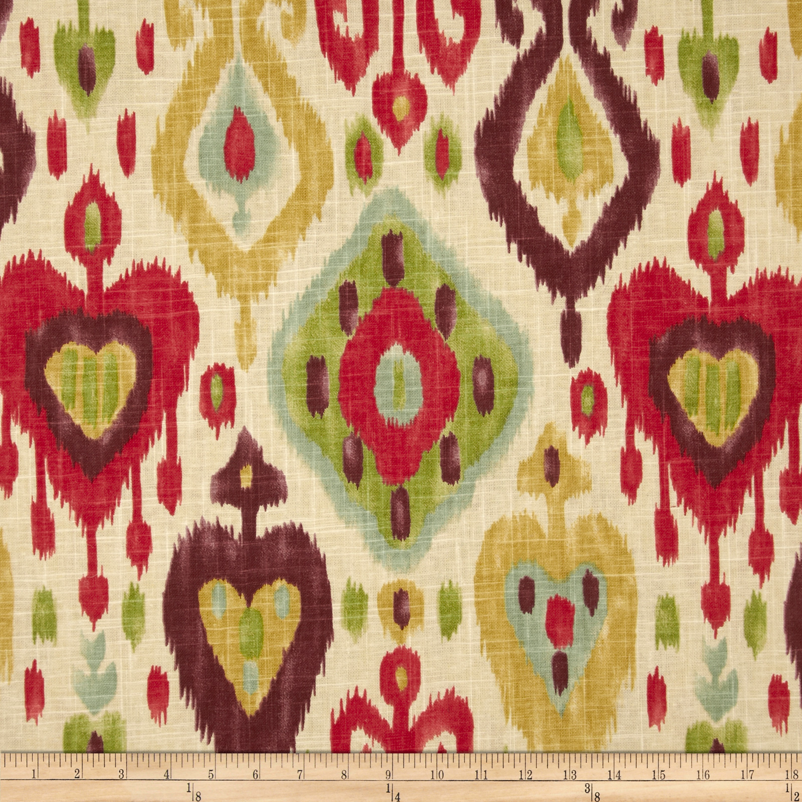 Richloom Ikat Django Jubilee Home Decor Fabric