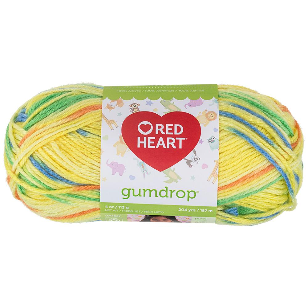 Red Heart Gumdrop Yarn 202 Lemon
