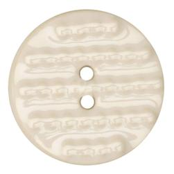 Ceramic Button 1 1/2'' Textures White