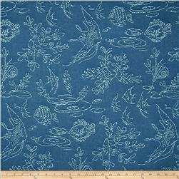 Covington Embroidered Gone Fishing Deep Sea