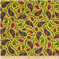 Imperial Paisley Paisley & Ferns Yellow