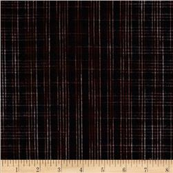 Yarn Dyed Flannel Plaid Black/Red