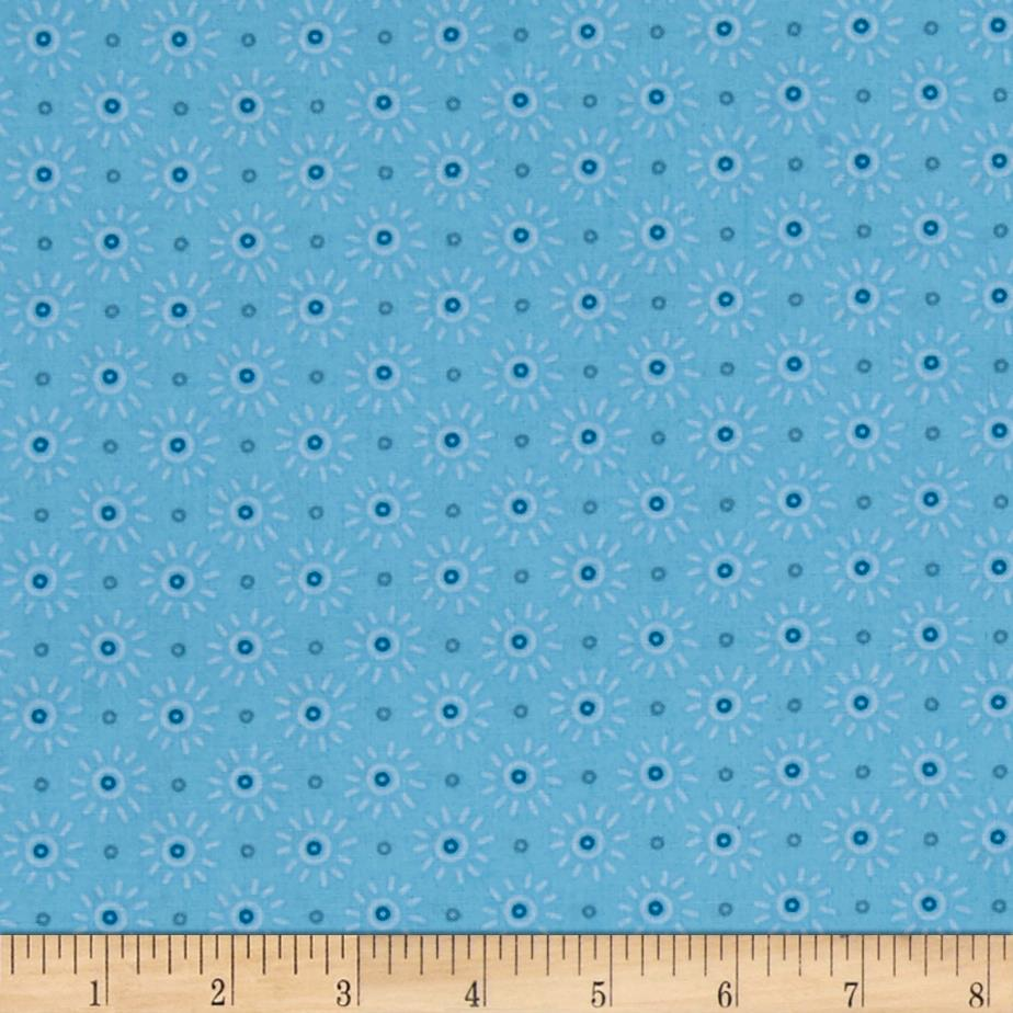 Intrigue sunburst baby blue discount designer fabric for Cheap baby fabric