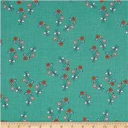 Just for Fun Floral Aqua