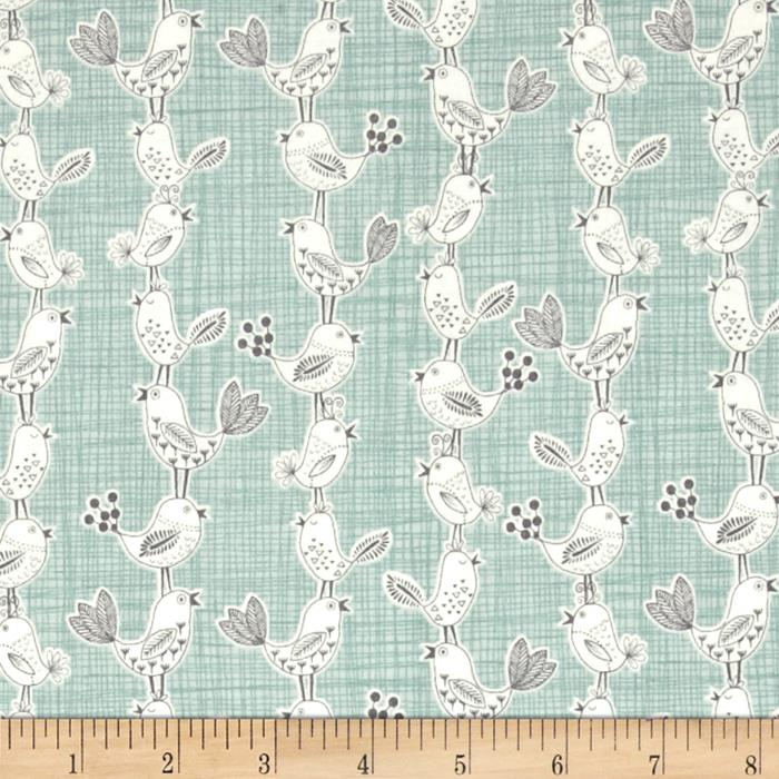 Sophia Bird Mint/Grey