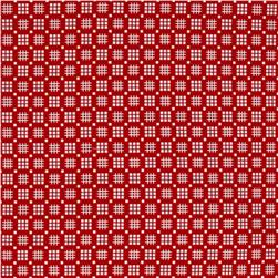 Kaufman Morningside Farm Geo Plaid Red