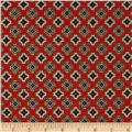 Caravan Diamond Foulard Terracotta