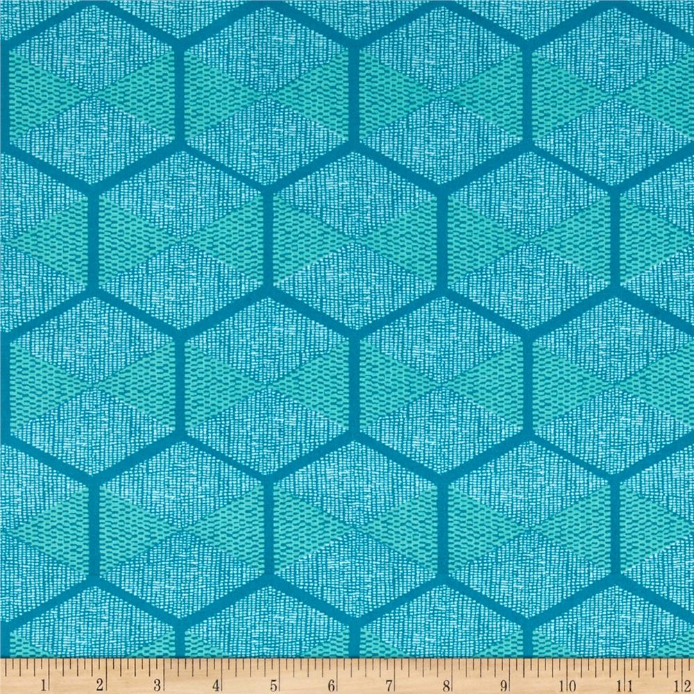 Joel Dewberry Cali Mod Hexablock Teal