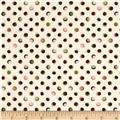 Antoinette Michele's Dots Ivory