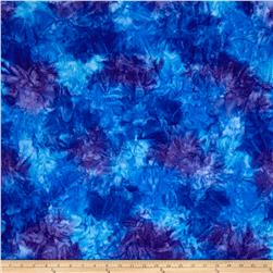 Kaufman Artisan Batiks Patina Handpaints Mottled Cornflower