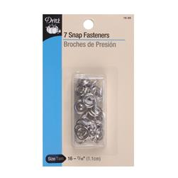 "Dritz Gripper Snaps 7/16"" Nickel"