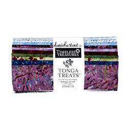 "Timeless Treasures Tonga Batik Treats Zen 10"" Squares"