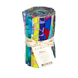 Kaffe Fassett Blues Sampler - 6'' Design Strips