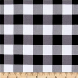 "Riley Blake 1"" Gingham Black"