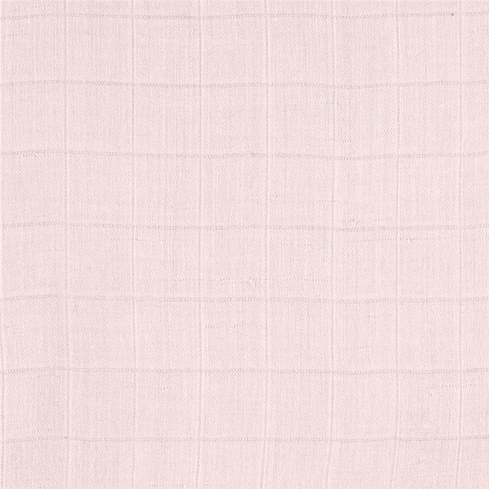 Embrace Bamboo Double Gauze Solid Baby Pink