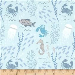 Lewis and Irene Coastal Coastal Creatures Aqua