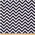 Flannel Chevron Black/White