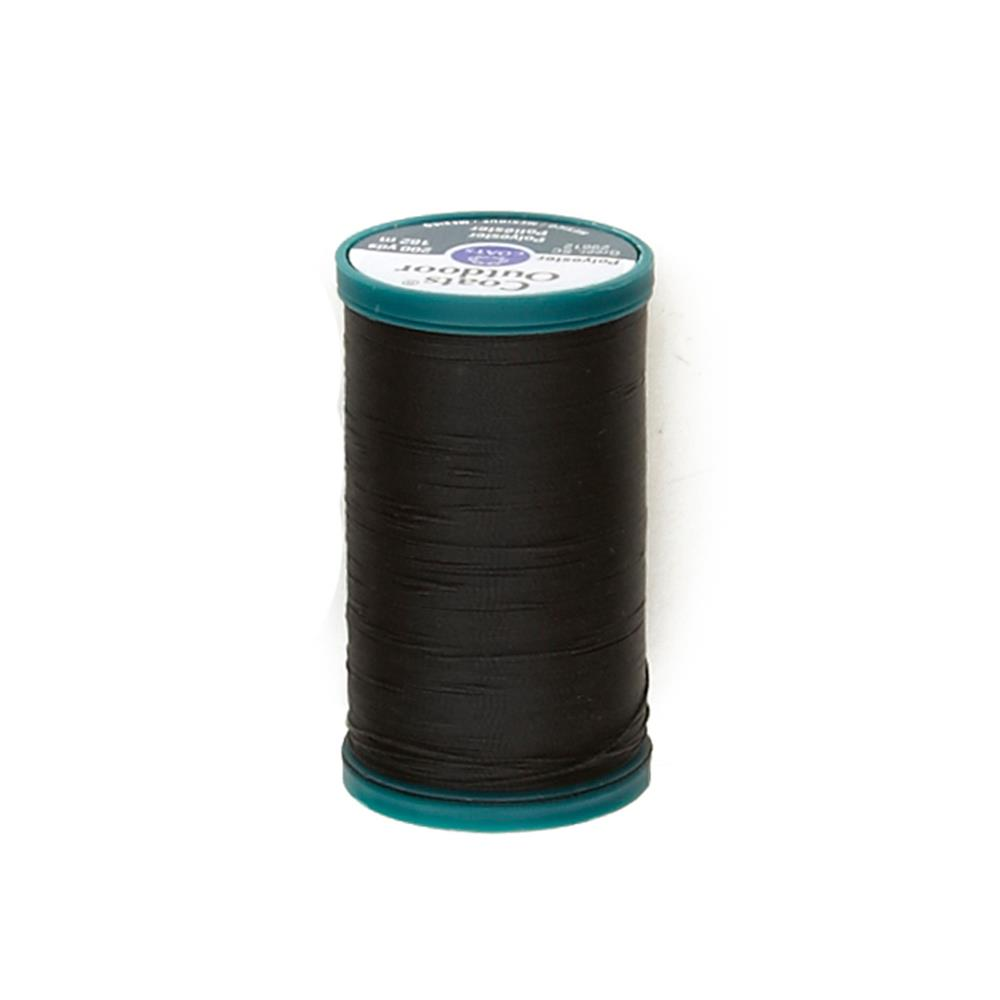 Coats & Clark Outdoor Thread 200 Yds. Black