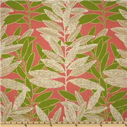 Richloom Solarium Outdoor Eastbluff Coral Home Decor Fabric
