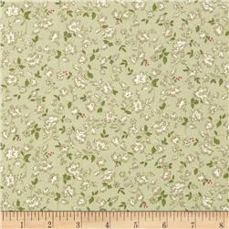 Lecien Kate Greenaway Coordinates Mini Floral Light Green