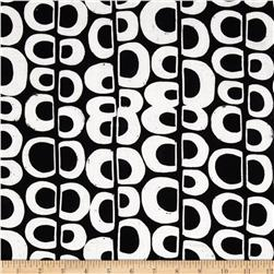 Artisan Batiks Pop Op Circle Stripe Black