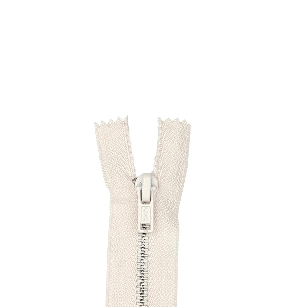 Metal All Purpose Zipper 9'' Natural