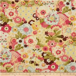 Moda Lulu Watercolor Garden Sunshine