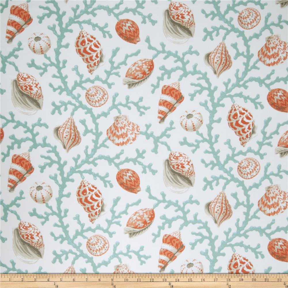 Fabricut Coral And Shells Outdoor Coral