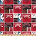 NBA Cotton Broadcloth Chicago Bulls Multi