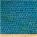 Batik by Mirah Day Cruise Small Waves Hydro Blue