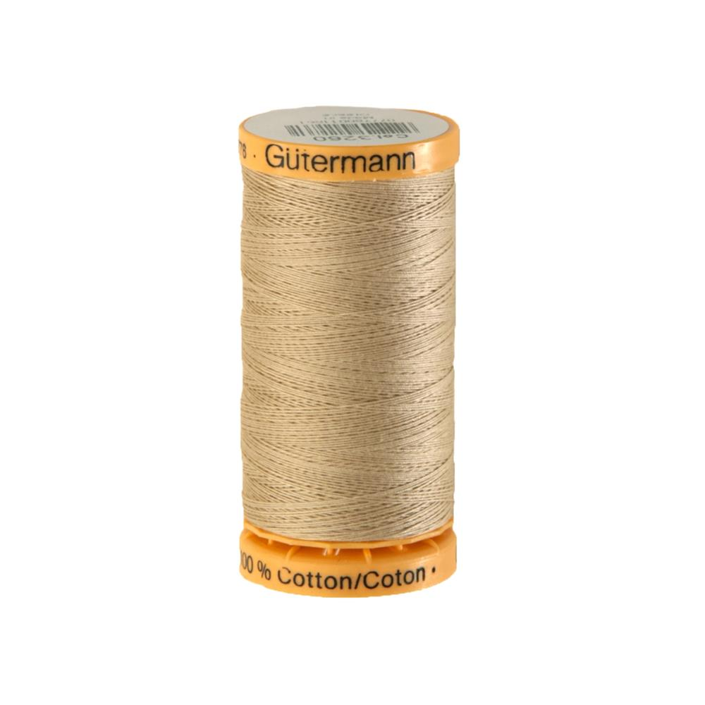 Gutermann Natural Cotton Thread 250m/273yds Beige