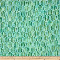 Wilmington Batiks Palm Texture Green/Blue