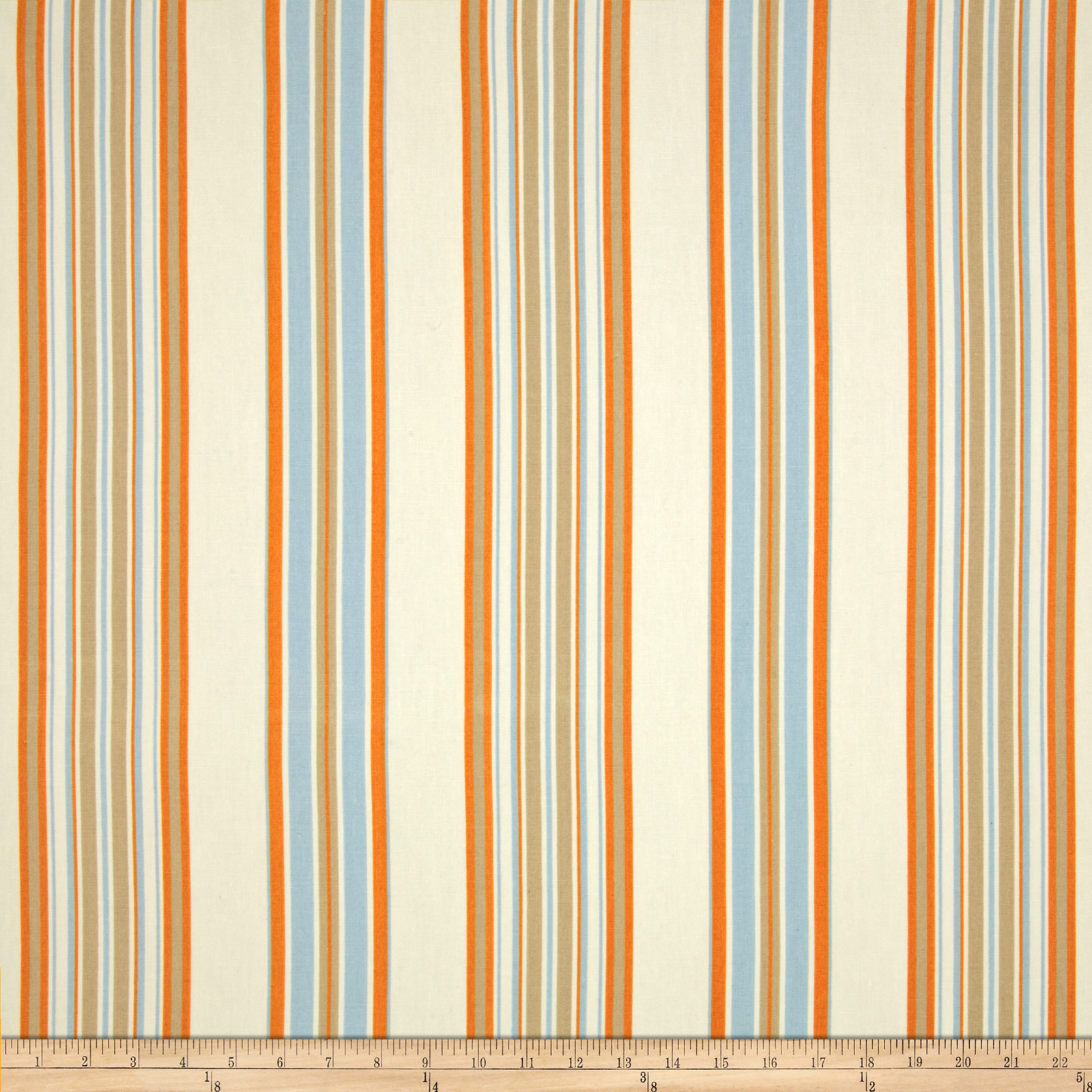 Duralee Home Hype Stripe Light Blue Fabric