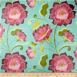 Riley Blake Halle Rose Laminate Main Teal