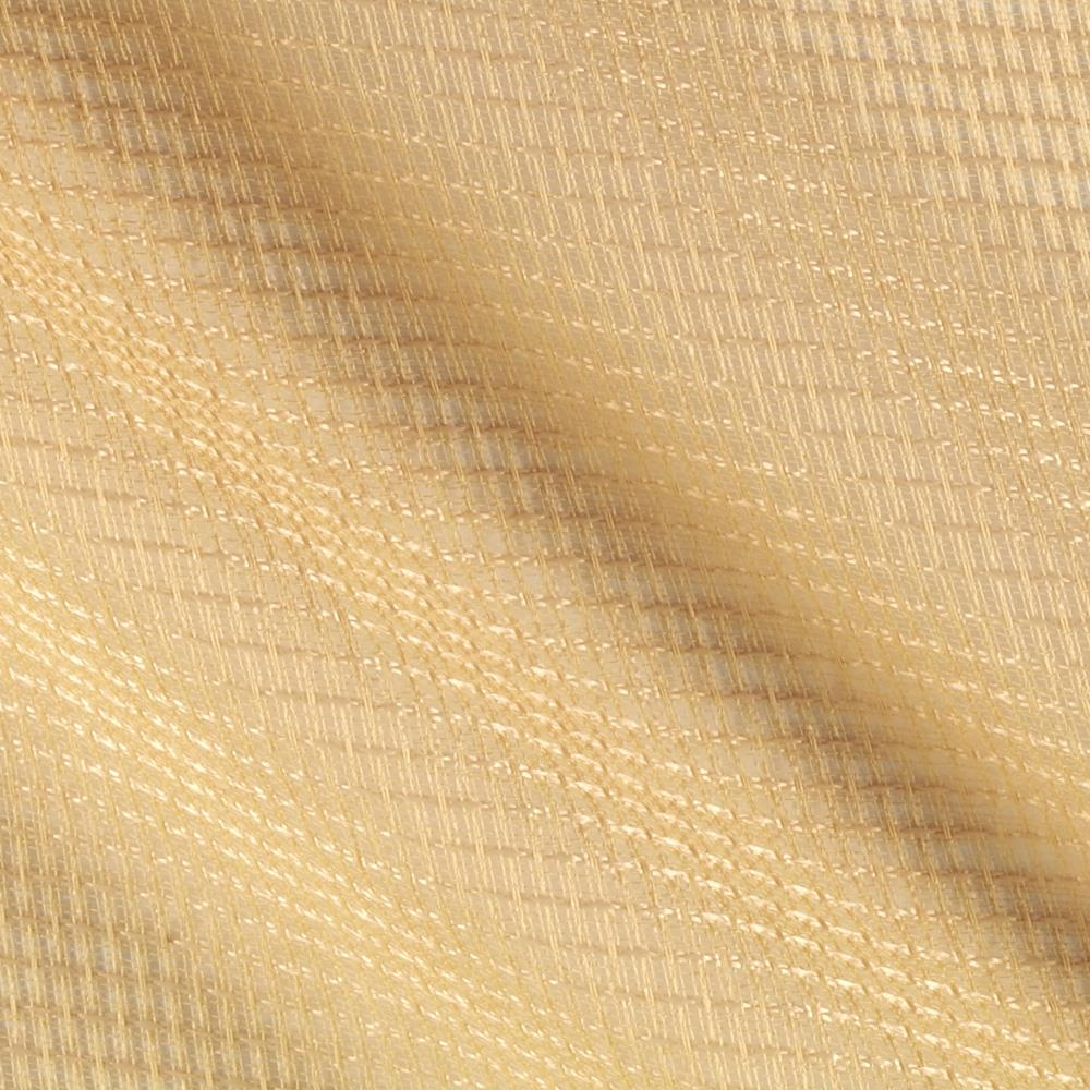 Eroica check it open weave sheer wheat discount designer for Sheer fabric