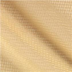 Eroica Check It Open Weave Sheer Wheat