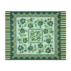 Palm Court 36 In. Panel Aqua