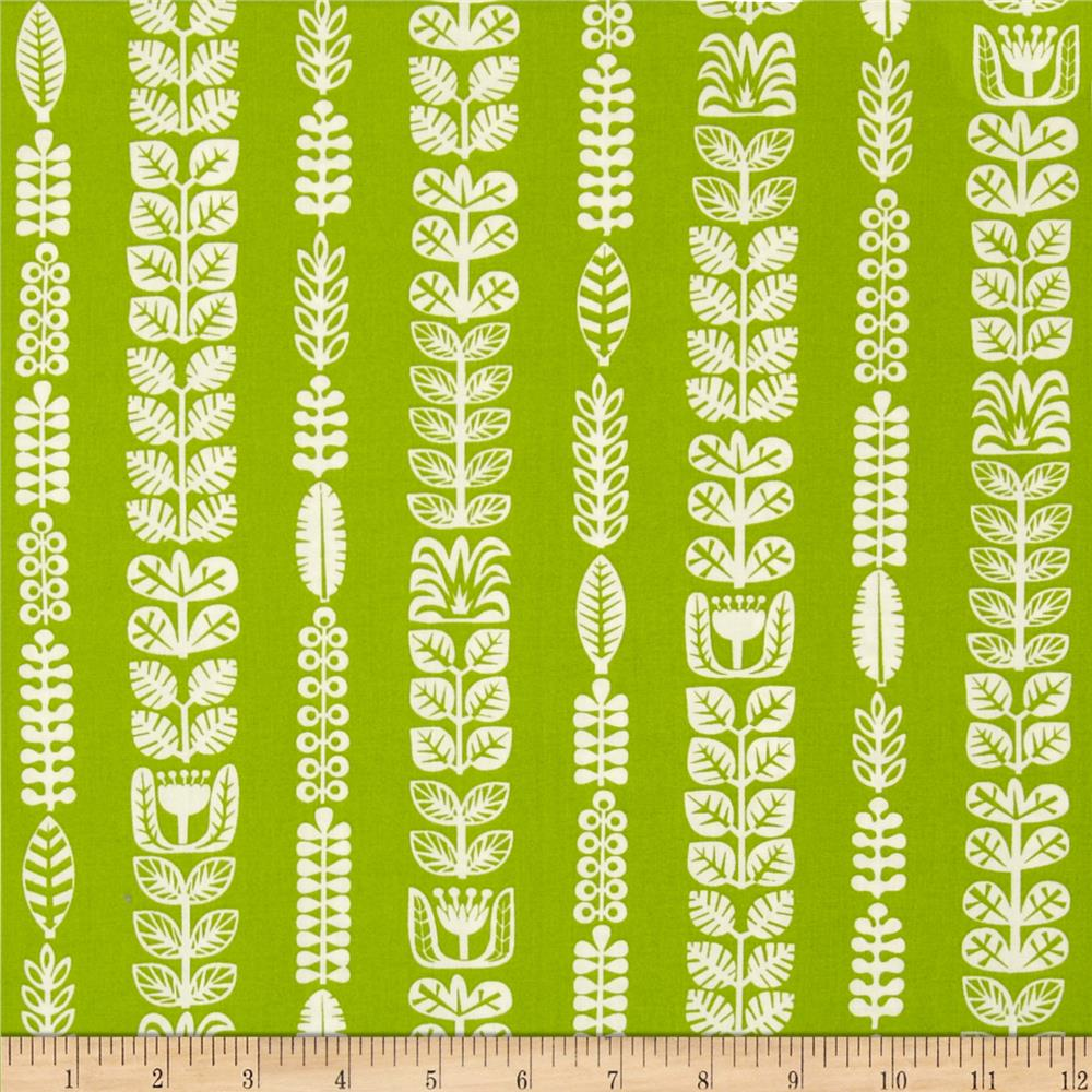 Birch Organic Ipanema Flora Stripe Grass