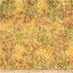 Batik Central Java Fern Peach/Yellow