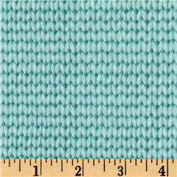 Downton Abbey II Knit Pattern Aqua